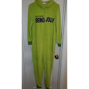 Grinch Hooded One Piece